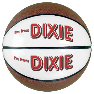 TEE I'm from Dixie Basketball