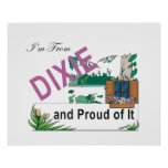 TEE I'm From Dixie Posters