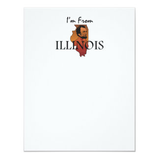 TEE I'm From Illinois Card