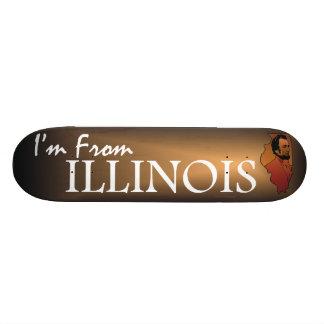 TEE I'm from Illinois Skate Decks