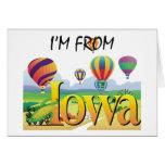 TEE I'm From Iowa Greeting Card