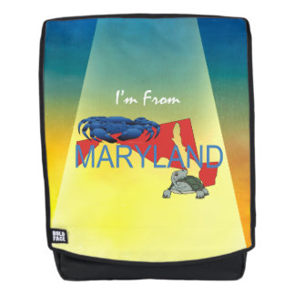TEE I'm from Maryland Backpack