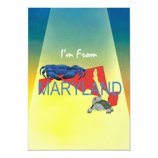 TEE I'm from Maryland Card