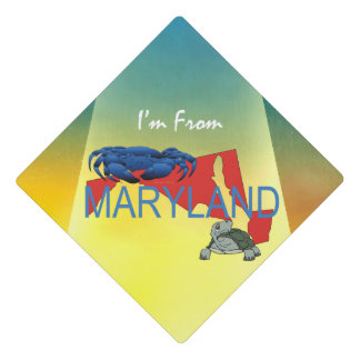 TEE I'm from Maryland Graduation Cap Topper