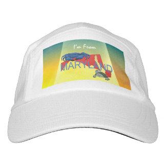 TEE I'm from Maryland Headsweats Hat