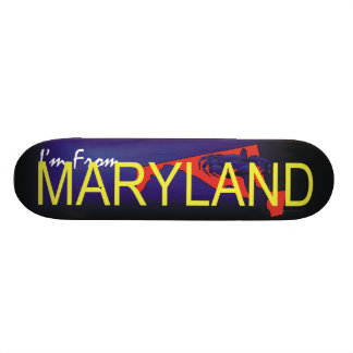 TEE I'm from Maryland Skateboard Deck