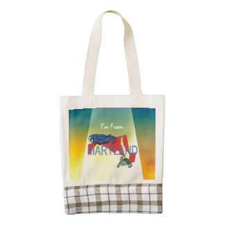 TEE I'm from Maryland Zazzle HEART Tote Bag