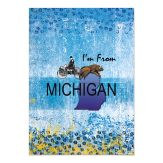TEE I'm from Michigan Magnetic Card