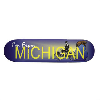 TEE I'm from Michigan Skate Boards