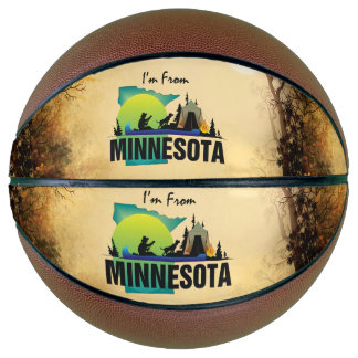 TEE I'm from Minnesota Basketball