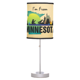 TEE I'm from Minnesota Desk Lamp