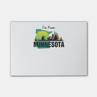 TEE I'm from Minnesota Post-it Notes