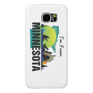 TEE I'm from Minnesota Samsung Galaxy S6 Case
