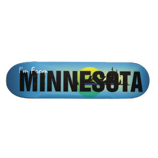 TEE I'm From Minnesota Skateboard