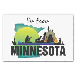 TEE I'm from Minnesota Tissue Paper