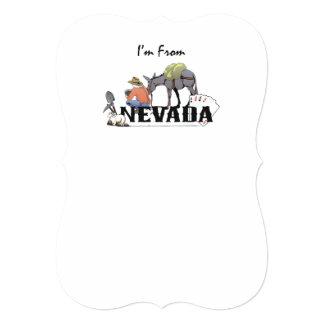 TEE I'm from Nevada Card