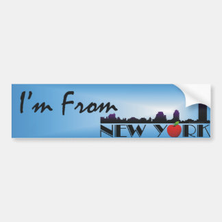TEE I'm From New York Bumper Stickers