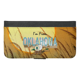 TEE I'm from Oklahoma iPhone 6/6s Plus Wallet Case
