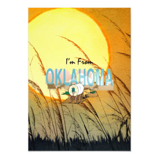 TEE I'm from Oklahoma Magnetic Card