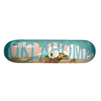 TEE I'm from Oklahoma Skateboard