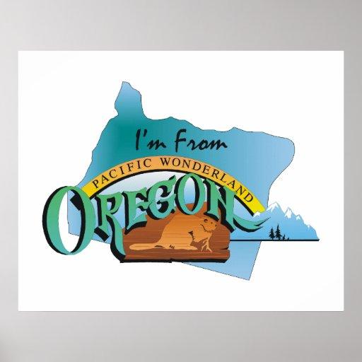 TEE I'm From Oregon Print