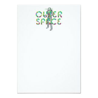 TEE I'm From Outer Space Card