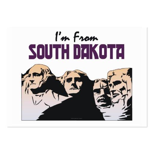 TEE I'm From South Dakota Business Card