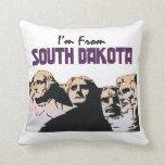 TEE I'm From South Dakota Pillow