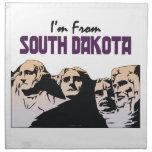 TEE I'm From South Dakota Printed Napkins