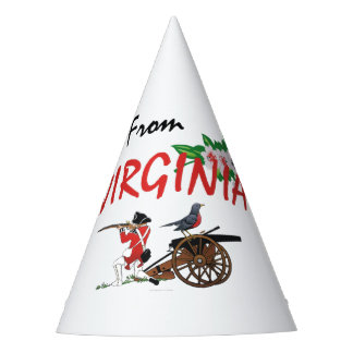 TEE I'm from Virginia Party Hat