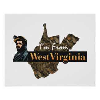 TEE I'm From West Virginia Poster