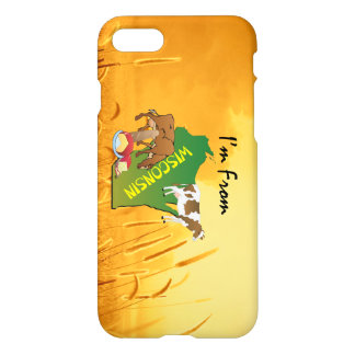 TEE I'm from Wisconsin iPhone 8/7 Case