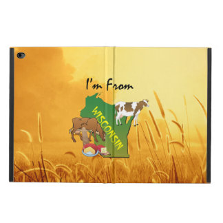 TEE I'm from Wisconsin Powis iPad Air 2 Case