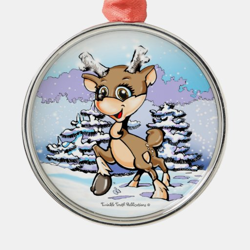 Tee in the Snow Holiday Ornament