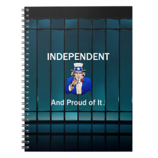TEE Independent and Proud of It Notebook