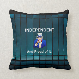 TEE Independent and Proud of It Throw Pillow