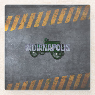 TEE Indianapolis Glass Coaster