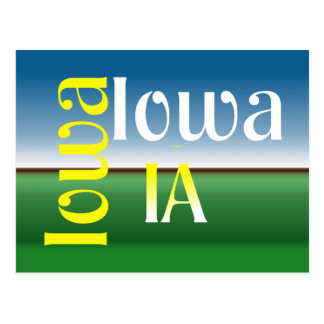 TEE Iowa Postcard