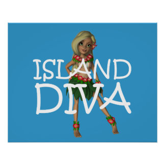 TEE Island Diva Poster