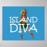TEE Island Diva Print