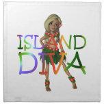 TEE Island Diva Printed Napkins