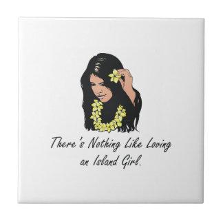 TEE Island Girl Tile