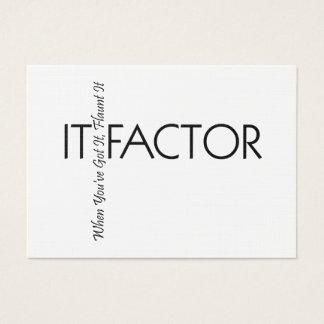 TEE It Factor Business Card