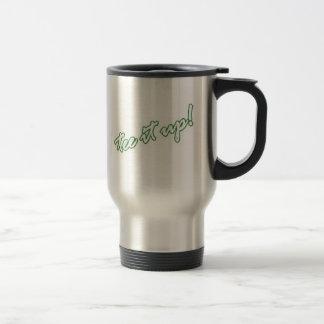 Tee it up! travel mug