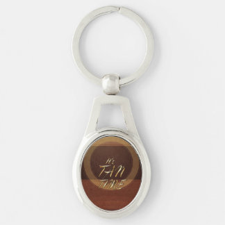 TEE It's Tan Time Keychain