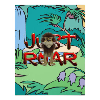 TEE Jungle Slogan Card
