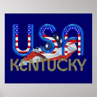 TEE Kentucky Patriot Poster
