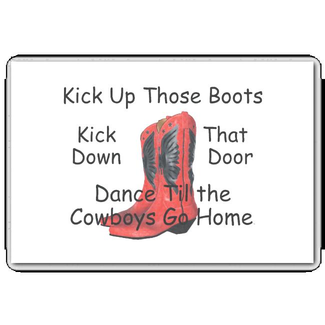 TEE Kick Up Those Boots 10