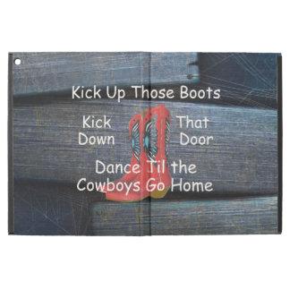 "TEE Kick Up Those Boots iPad Pro 12.9"" Case"