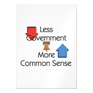 TEE Less Government Magnetic Card